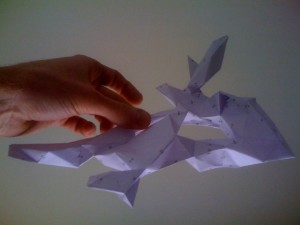 The paper model